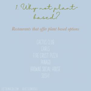 choose plant based